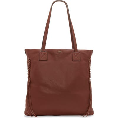 Vince Camuto Jayde Leather Tote - Brown