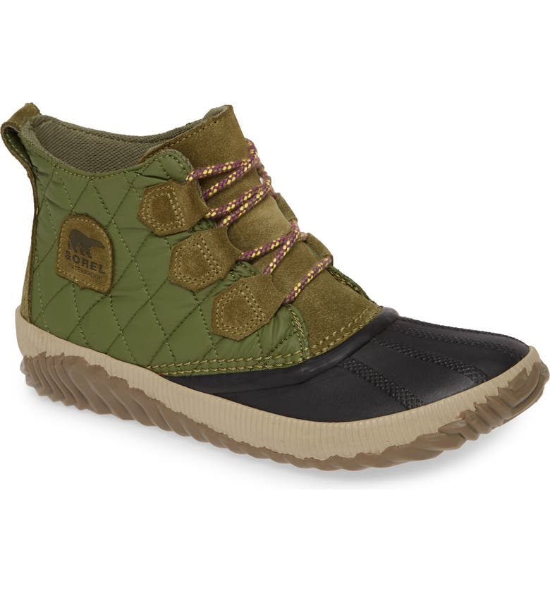 SOREL Out N About Plus Camp Waterproof Bootie, Main, color, 371