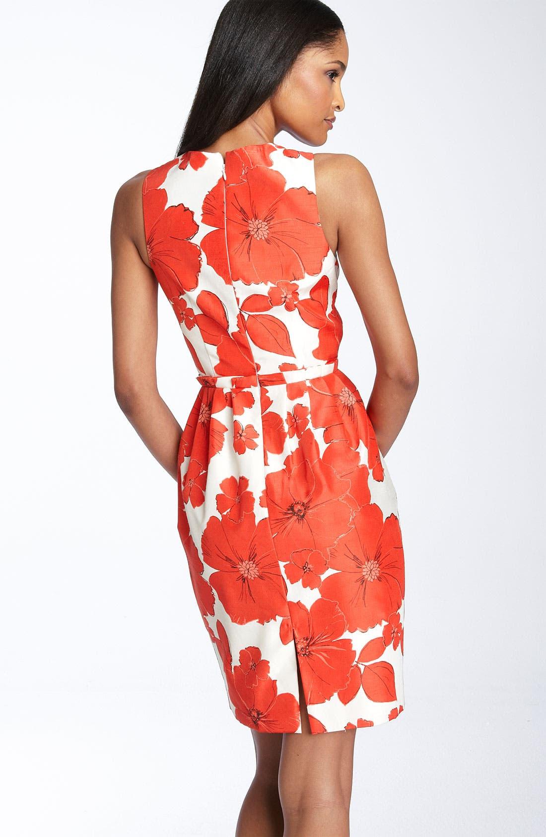,                             Print Sheath Dress,                             Alternate thumbnail 2, color,                             630