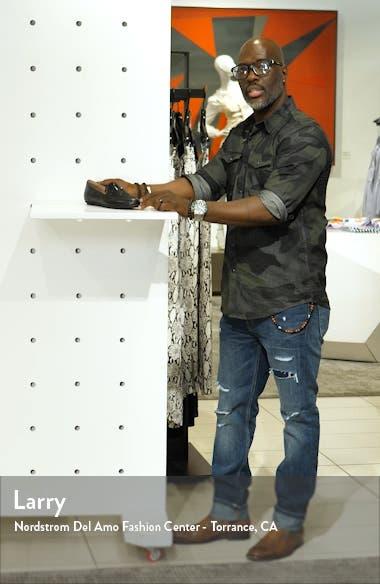Lena Crystal Embellished Loafer, sales video thumbnail