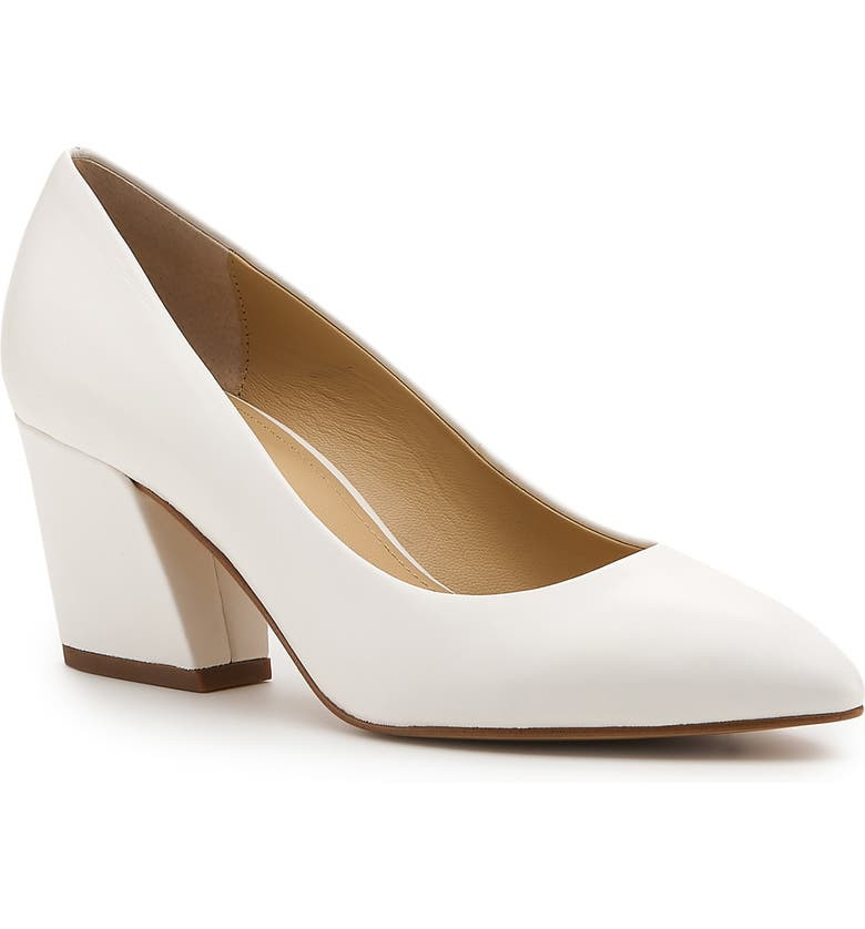 BOTKIER Stella Pump, Main, color, WHITE LEATHER