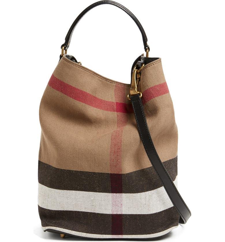 b2473fbee5 Burberry Brit 'Susanna - Medium' Bucket Bag | Nordstrom