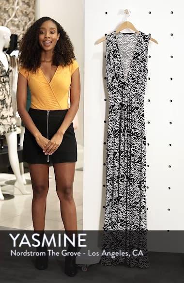 Plunge Neck Maxi Dress, sales video thumbnail