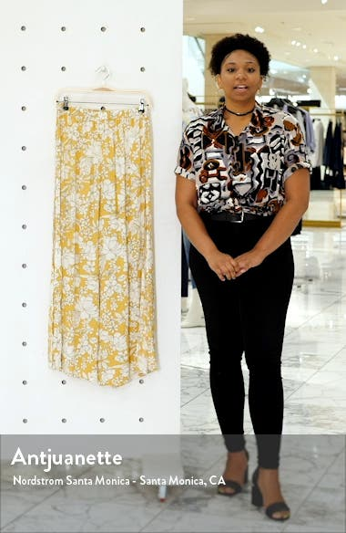 Hensley Print Cover-Up Pants, sales video thumbnail