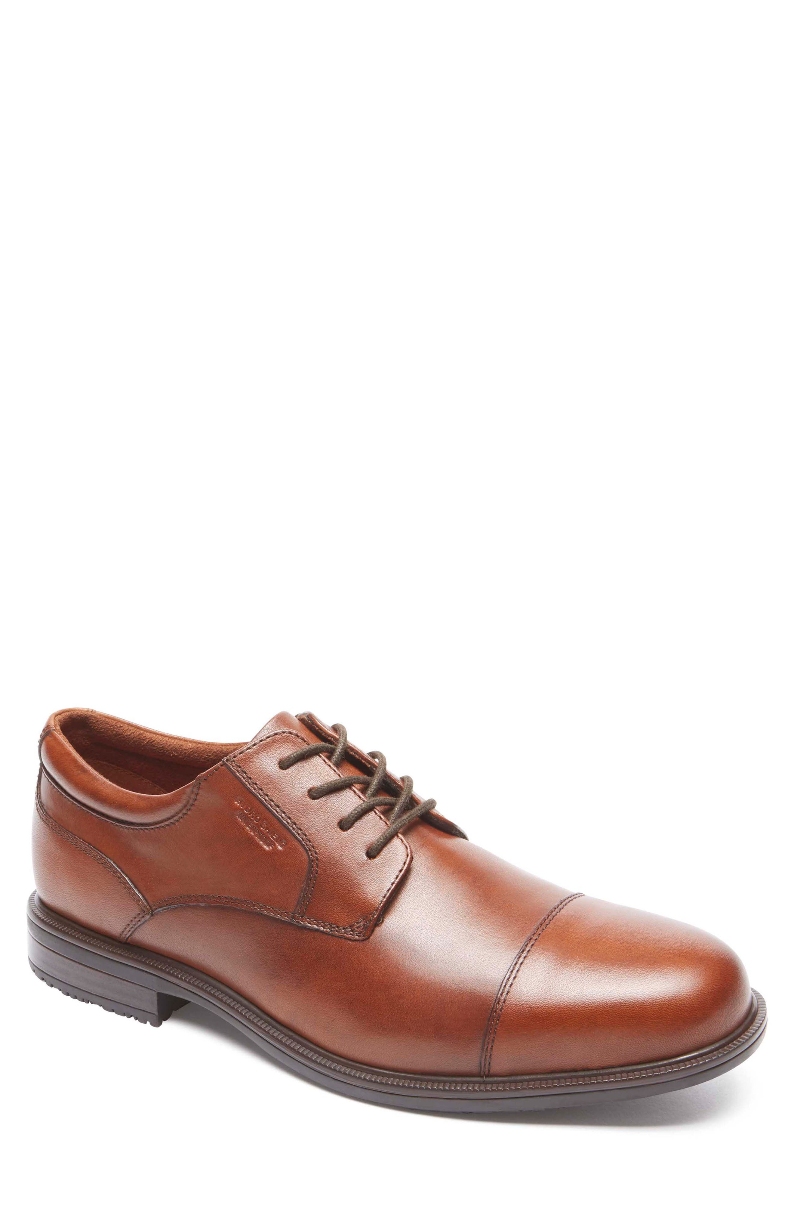 Image of Rockport Essential Details II Waterproof Cap Toe Derby