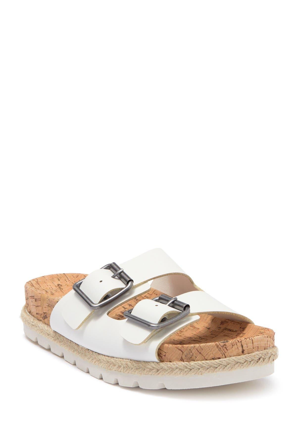 Image of Esprit Brielle Double Strap Espadrille Footbed Sandal