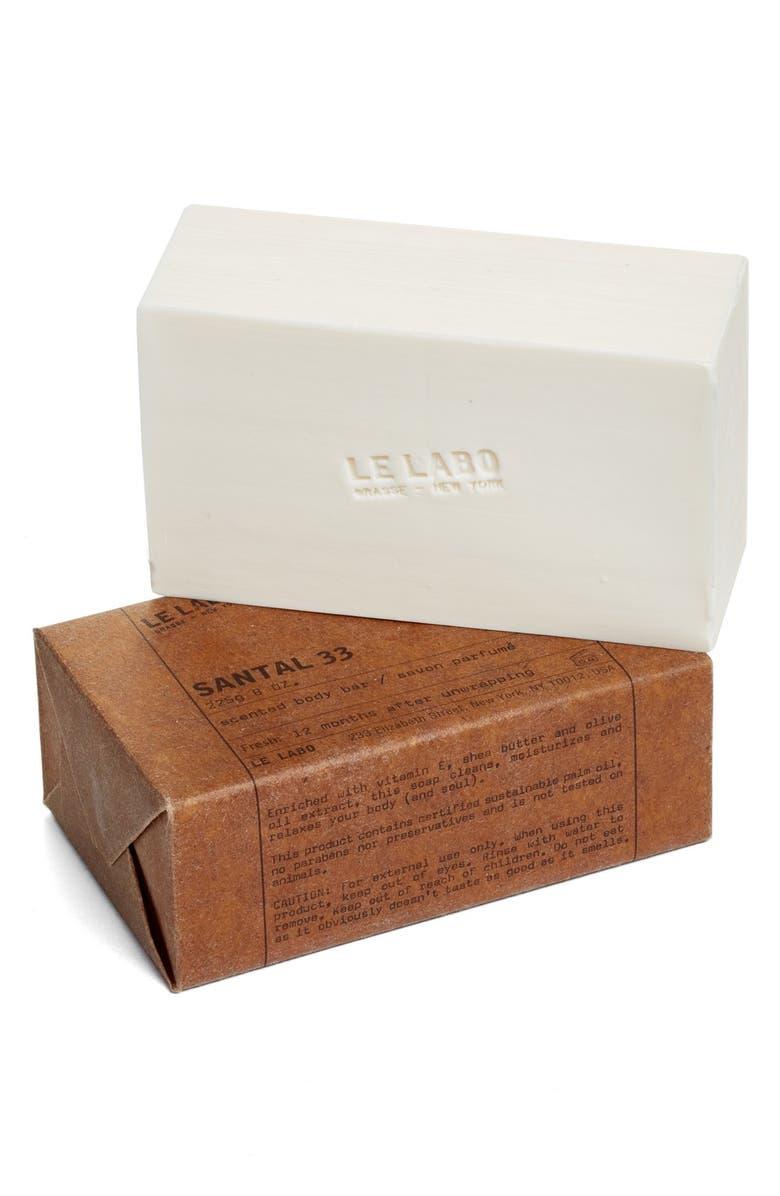 LE LABO 'Santal 33' Bar Soap, Main, color, NO COLOR