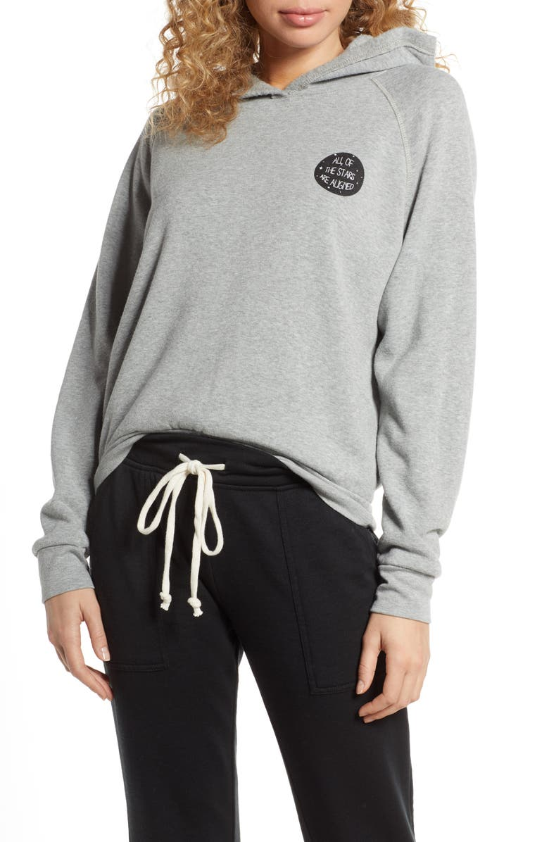 PROJECT SOCIAL T Aligned/Retrograde Lounge Hoodie, Main, color, 020