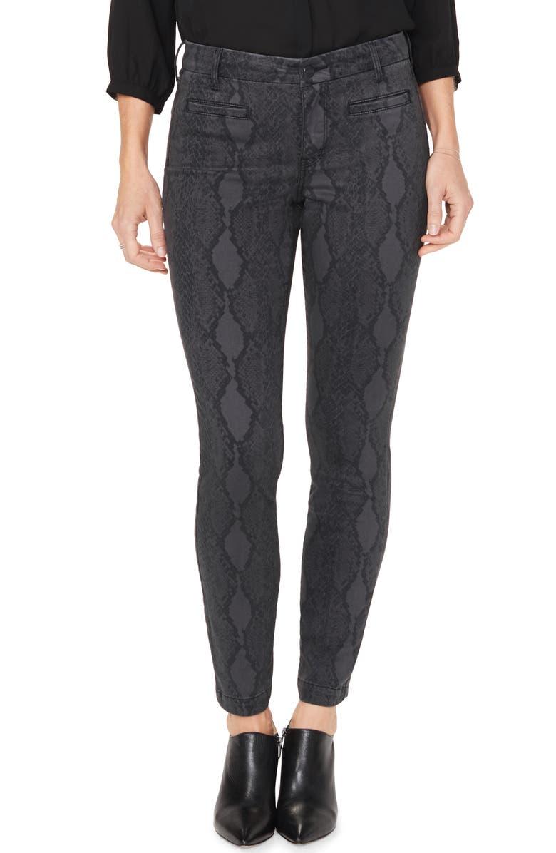 NYDJ Ami High Waist Welt Pocket Ankle Skinny Jeans, Main, color, DIAMONDBACK