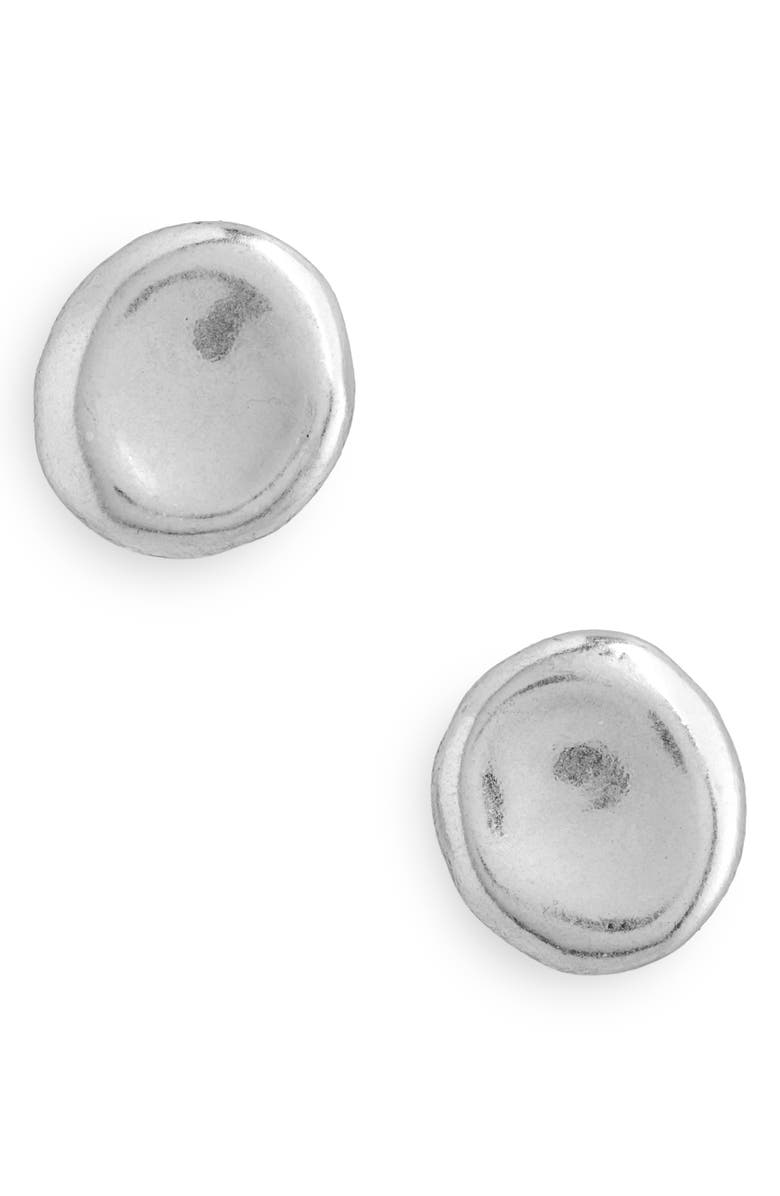 MADEWELL Delicate Coin Stud Earrings, Main, color, 040
