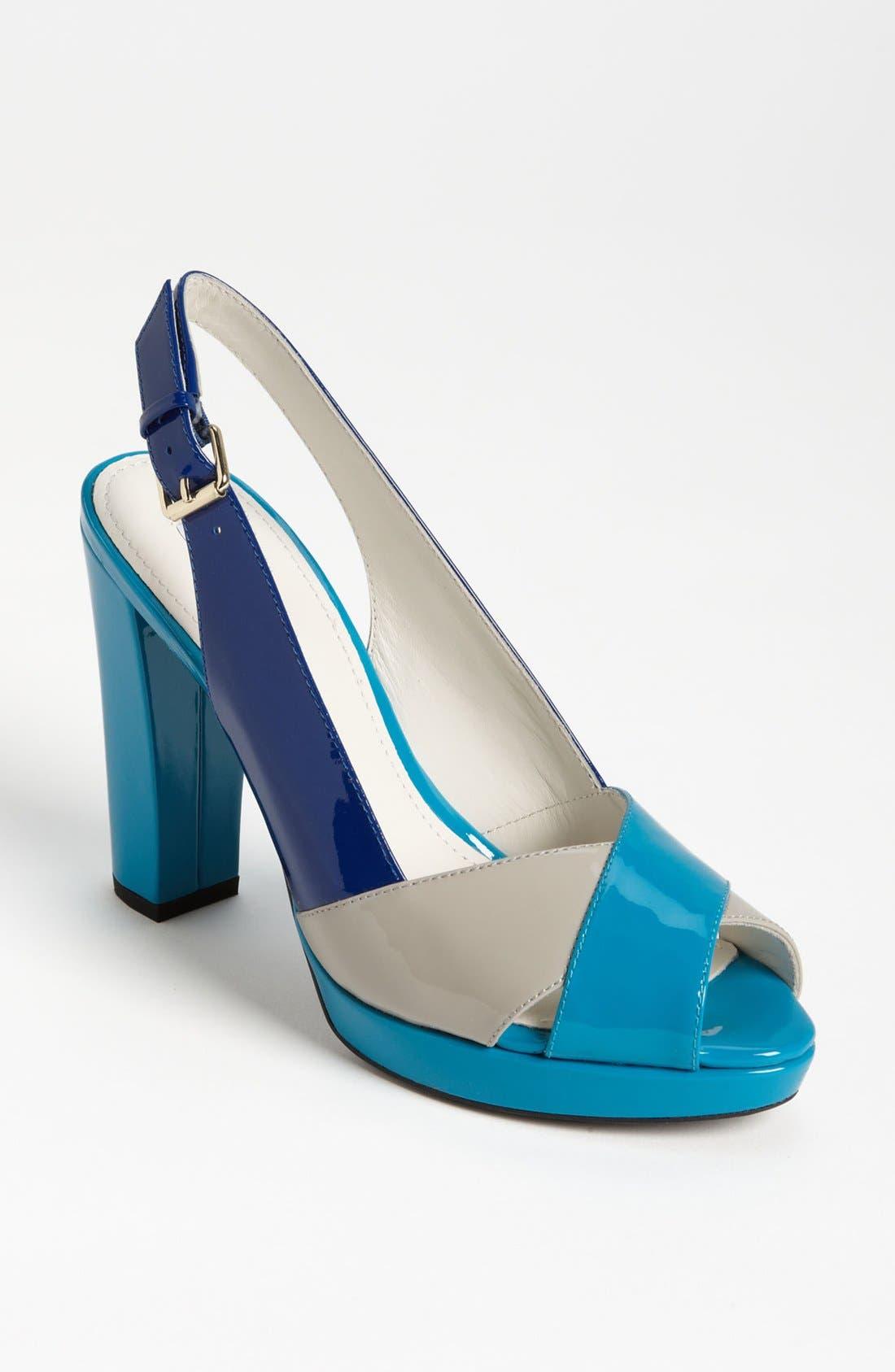 ,                             'New Egizia' Slingback Sandal,                             Main thumbnail 1, color,                             065
