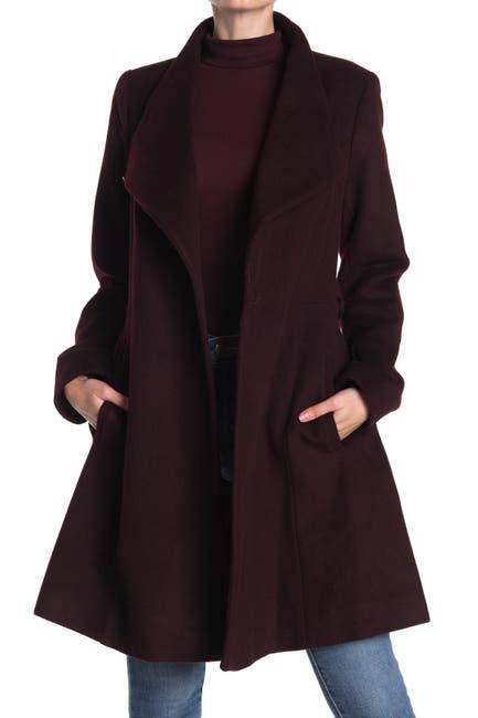 Image of MICHAEL Michael Kors Belted Wool Coat