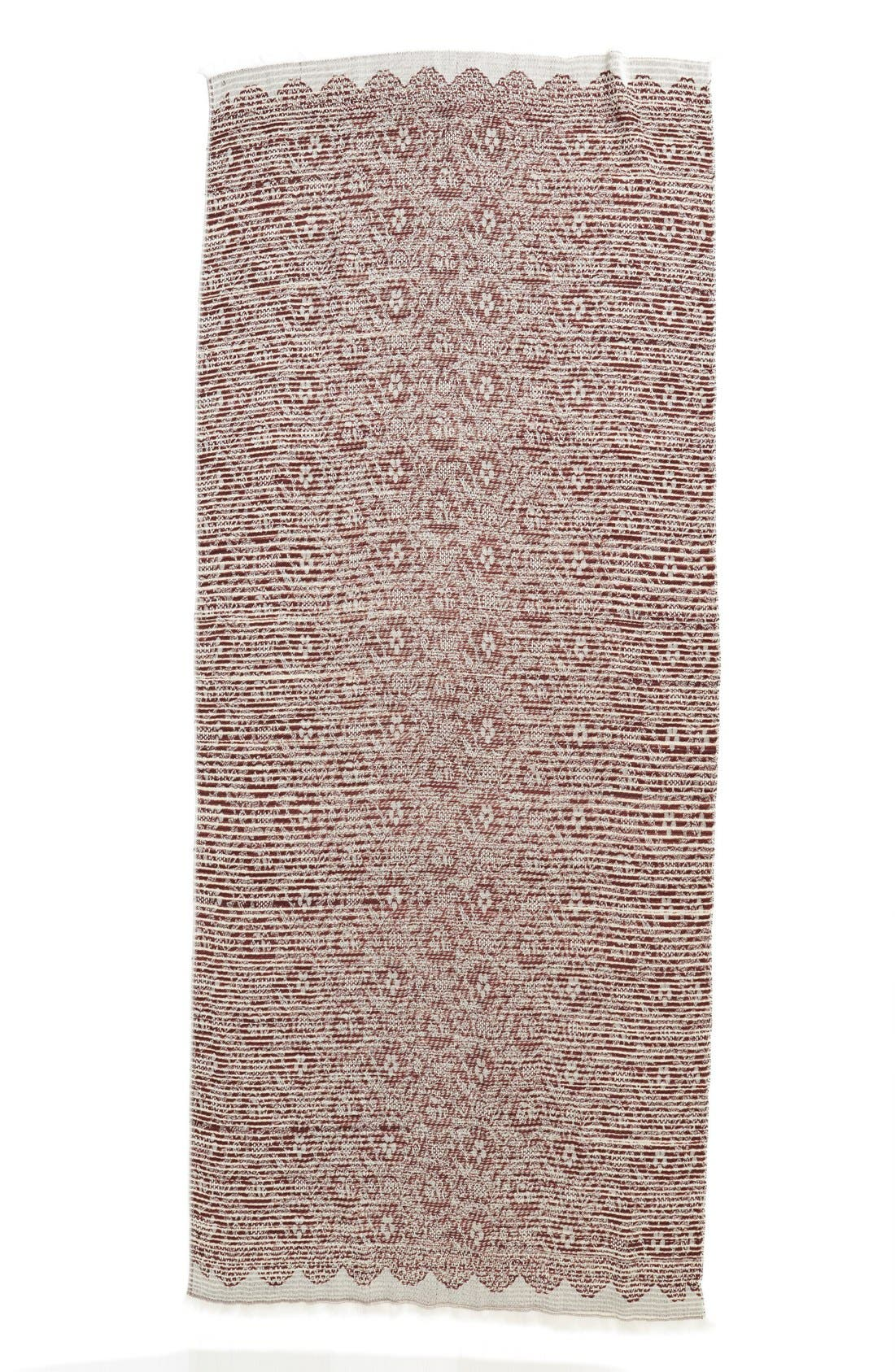 ,                             Brushed Floral Print Wrap,                             Alternate thumbnail 6, color,                             930