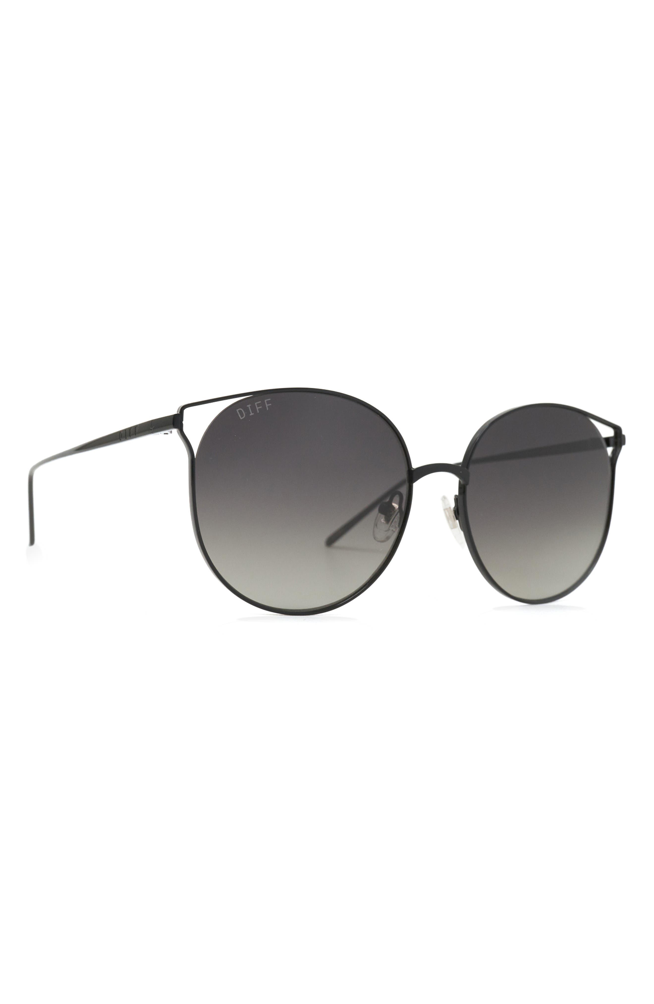 Rory 59mm Mirrored Cat Eye Sunglasses