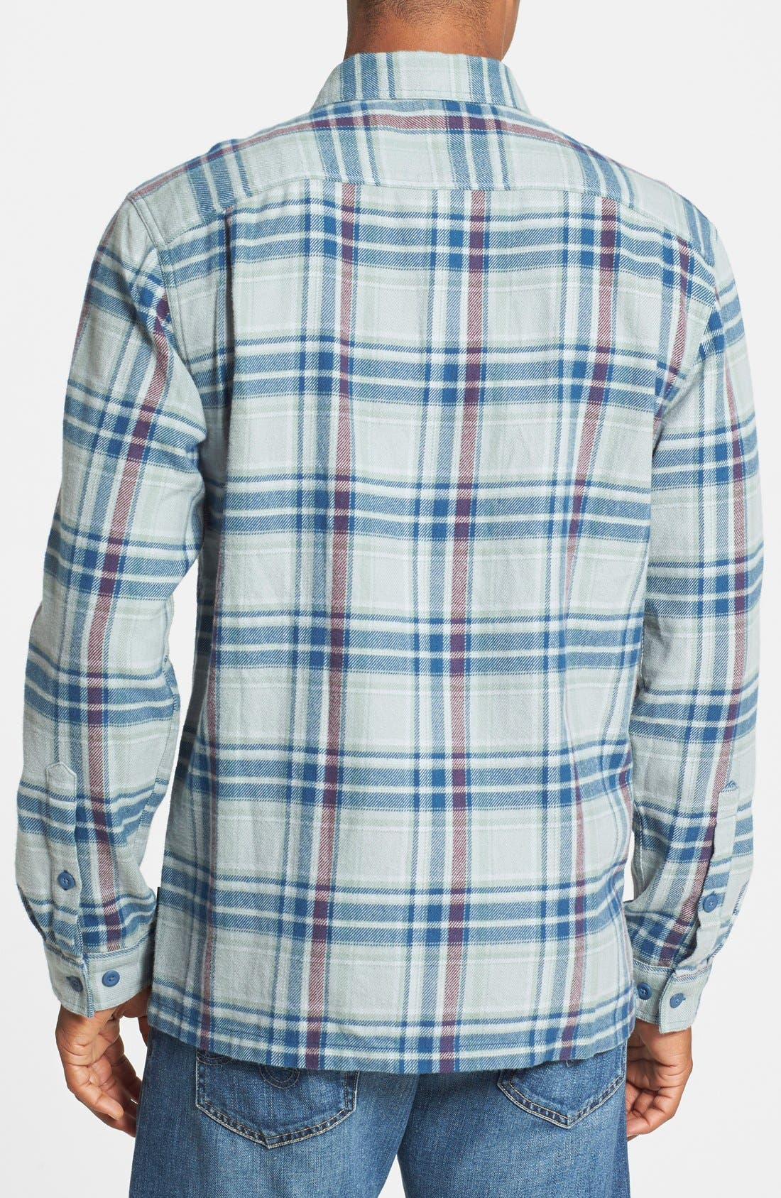 ,                             'Fjord' Regular Fit Organic Cotton Flannel Shirt,                             Alternate thumbnail 68, color,                             023