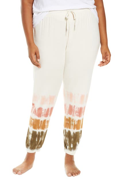 Pj Salvage TIE DYE BAND SWEATPANTS