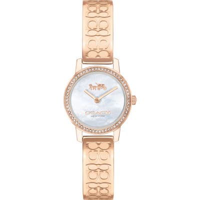 Coach Audrey Pave Bangle Watch, 22Mm