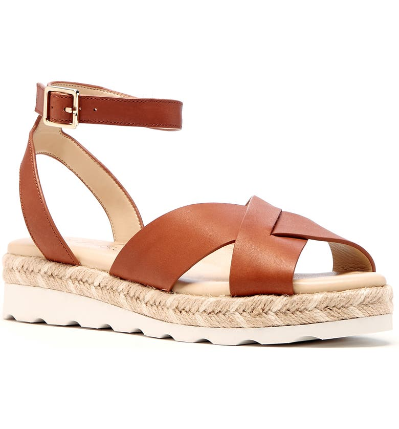SOLE SOCIETY Verryn Platform Sandal, Main, color, BEACHY TAN LEATHER