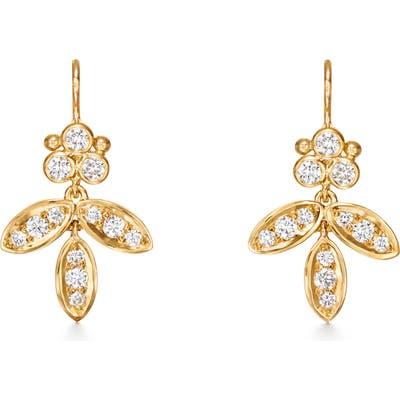 Temple St. Clair Foglia Diamond Pave Earrings