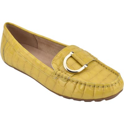 Evolve Mink Loafer- Yellow