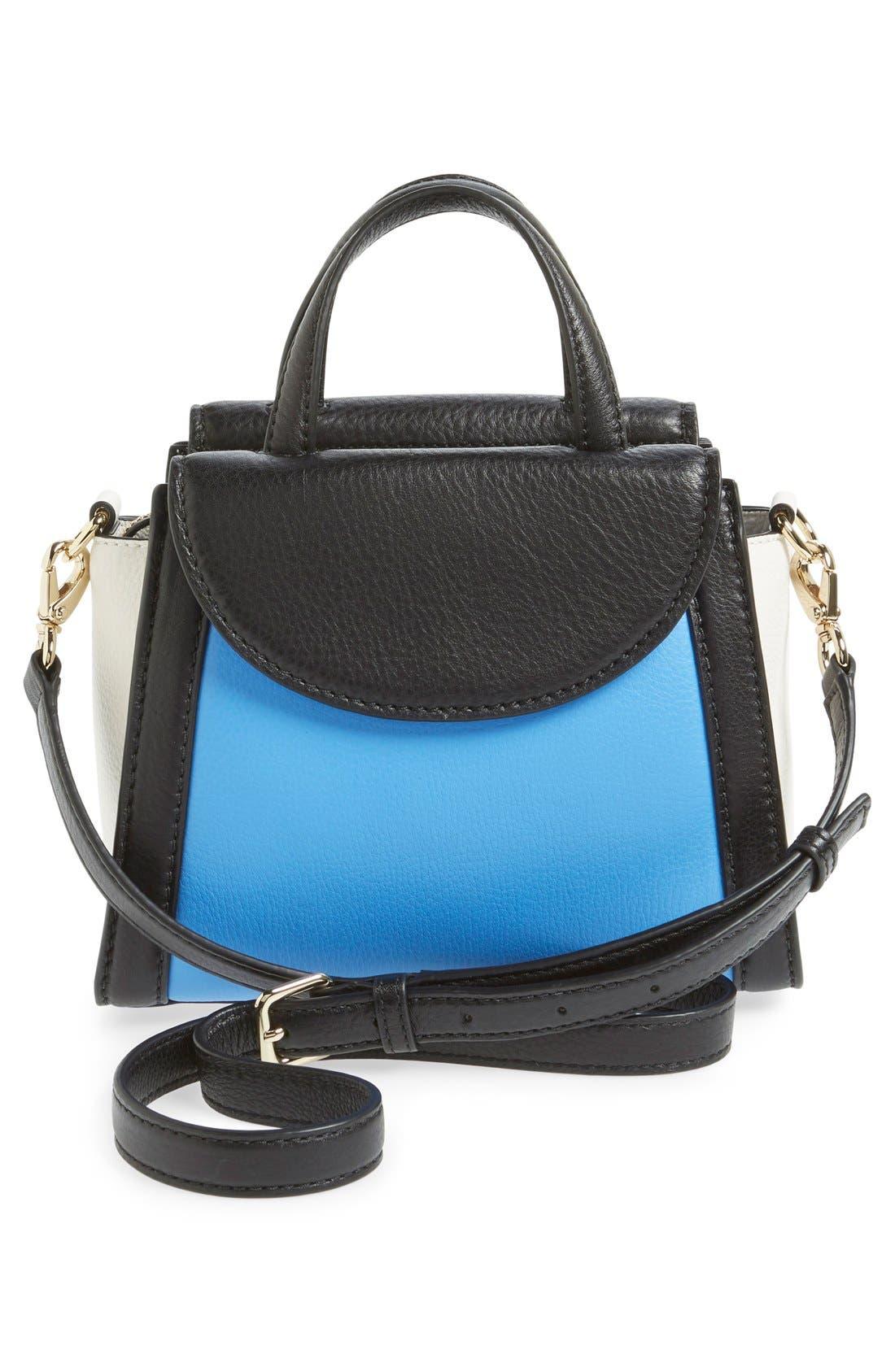 ,                             'cobble hill - small adrien' leather satchel,                             Alternate thumbnail 18, color,                             400