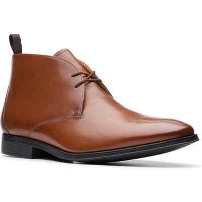 Clarks Gilman Mid Chukka Boot, Brown