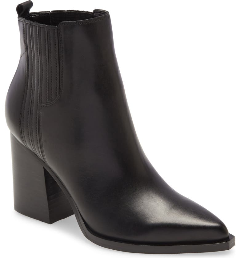 MARC FISHER LTD Oshay Pointed Toe Bootie, Main, color, 001