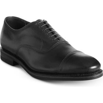 Allen Edmonds Park Avenue Weatherproof Cap Toe Oxford - Black