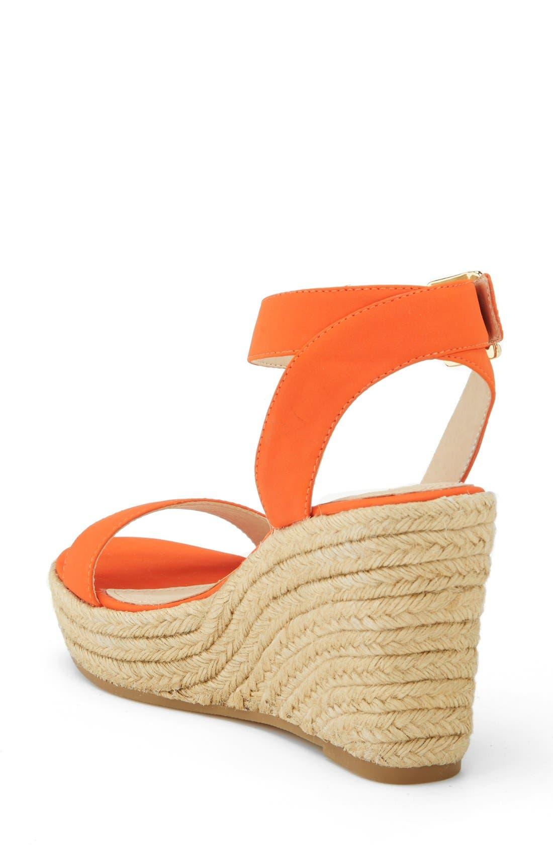 ,                             'Seaside' Wedge Sandal,                             Alternate thumbnail 22, color,                             828