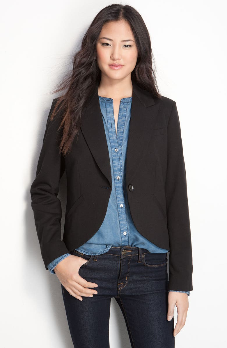 GIBSONLOOK Gibson Structured One Button Jacket, Main, color, 001