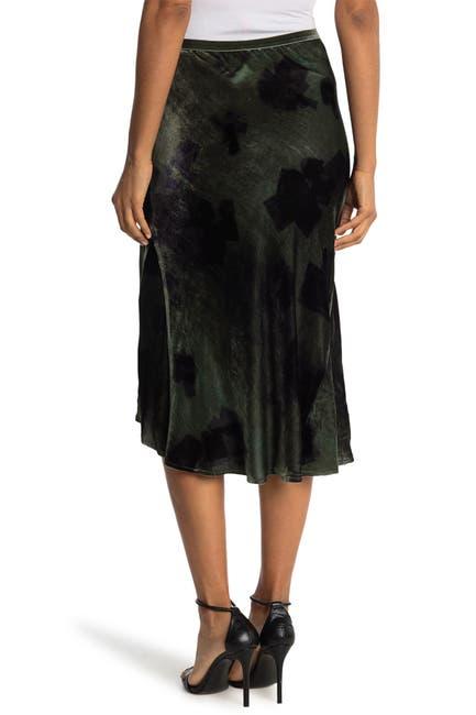 Image of Go by go Silk Go Velvet Bias Skirt