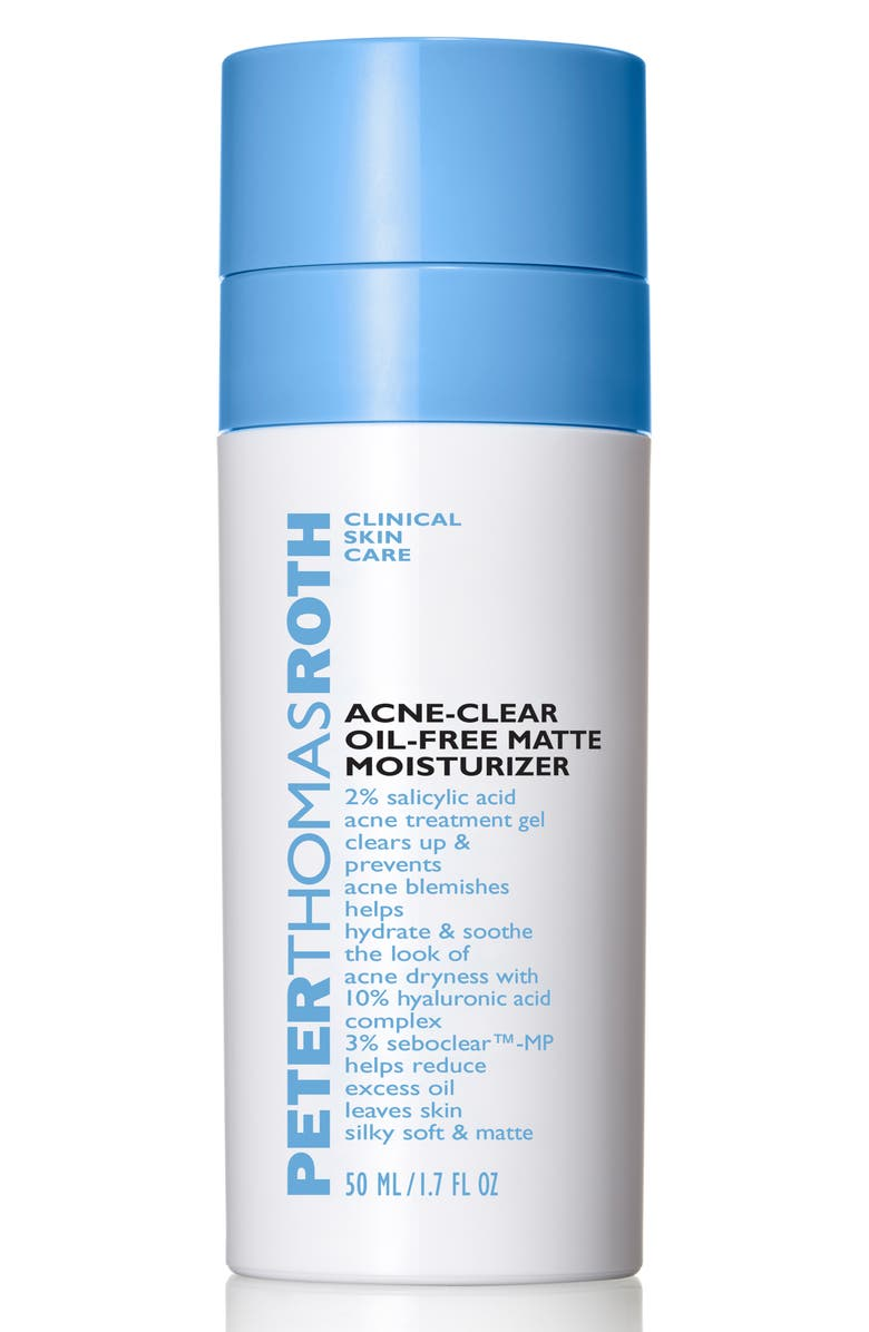 PETER THOMAS ROTH Acne-Clear Oil-Free Matte Moisturizer, Main, color, NO COLOR