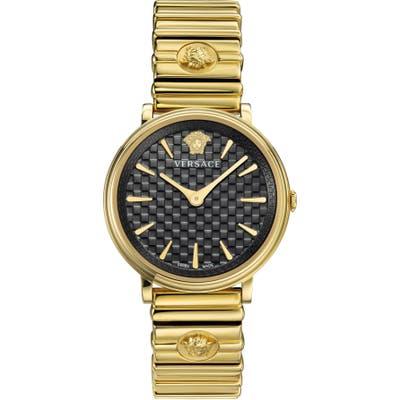 Versace V Circle Logo Bracelet Watch,
