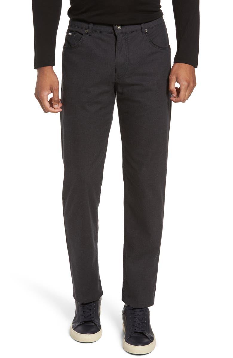 4497021c Five-Pocket Stretch Cotton Trousers