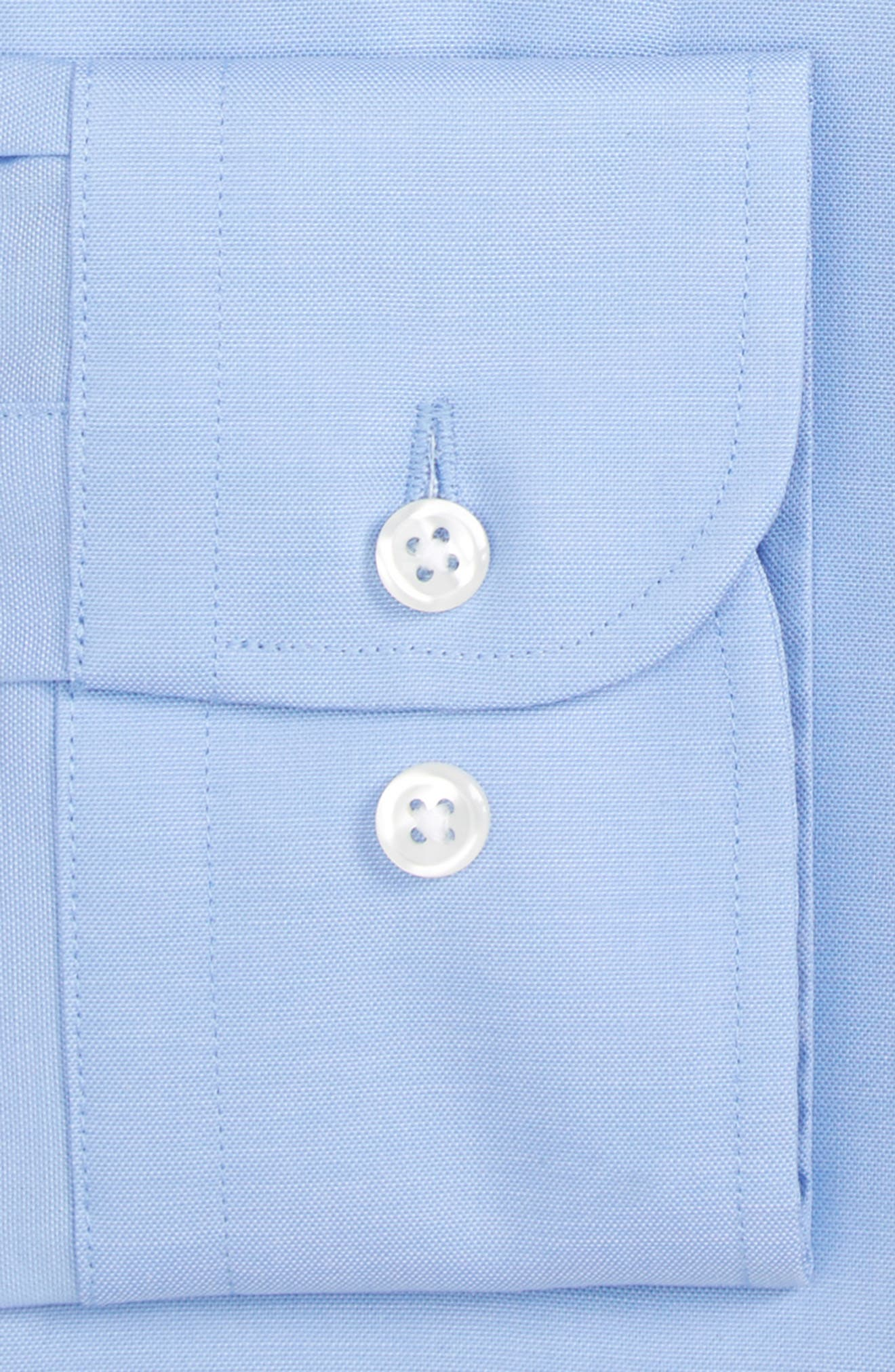 ,                             Extra Trim Fit Non-Iron Solid Dress Shirt,                             Alternate thumbnail 61, color,                             450