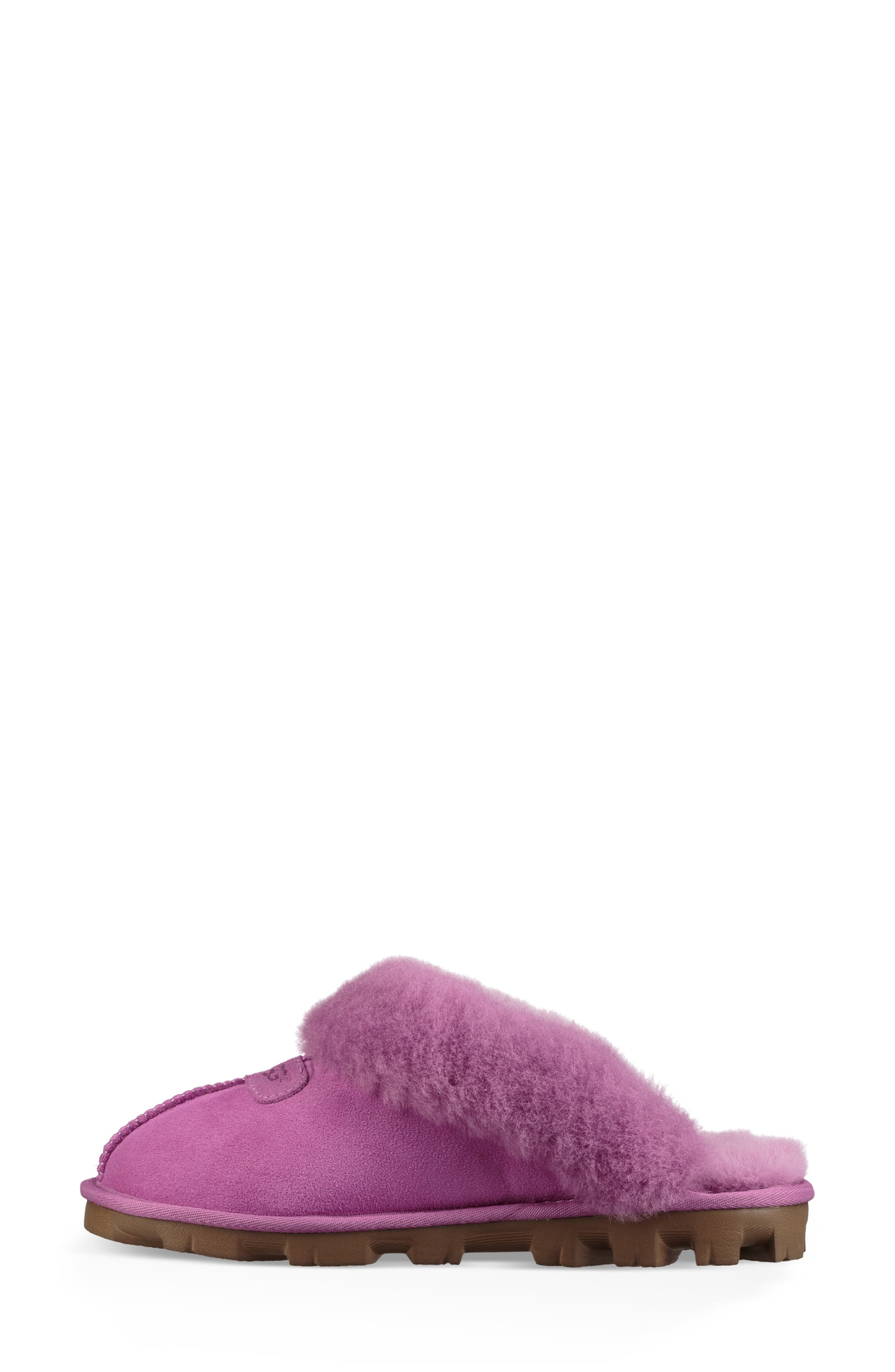 ,                             Genuine Shearling Slipper,                             Alternate thumbnail 40, color,                             528