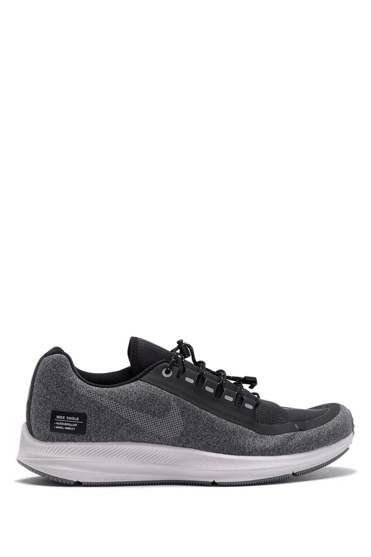 nike zoom winflo 5 shield ladies running shoes
