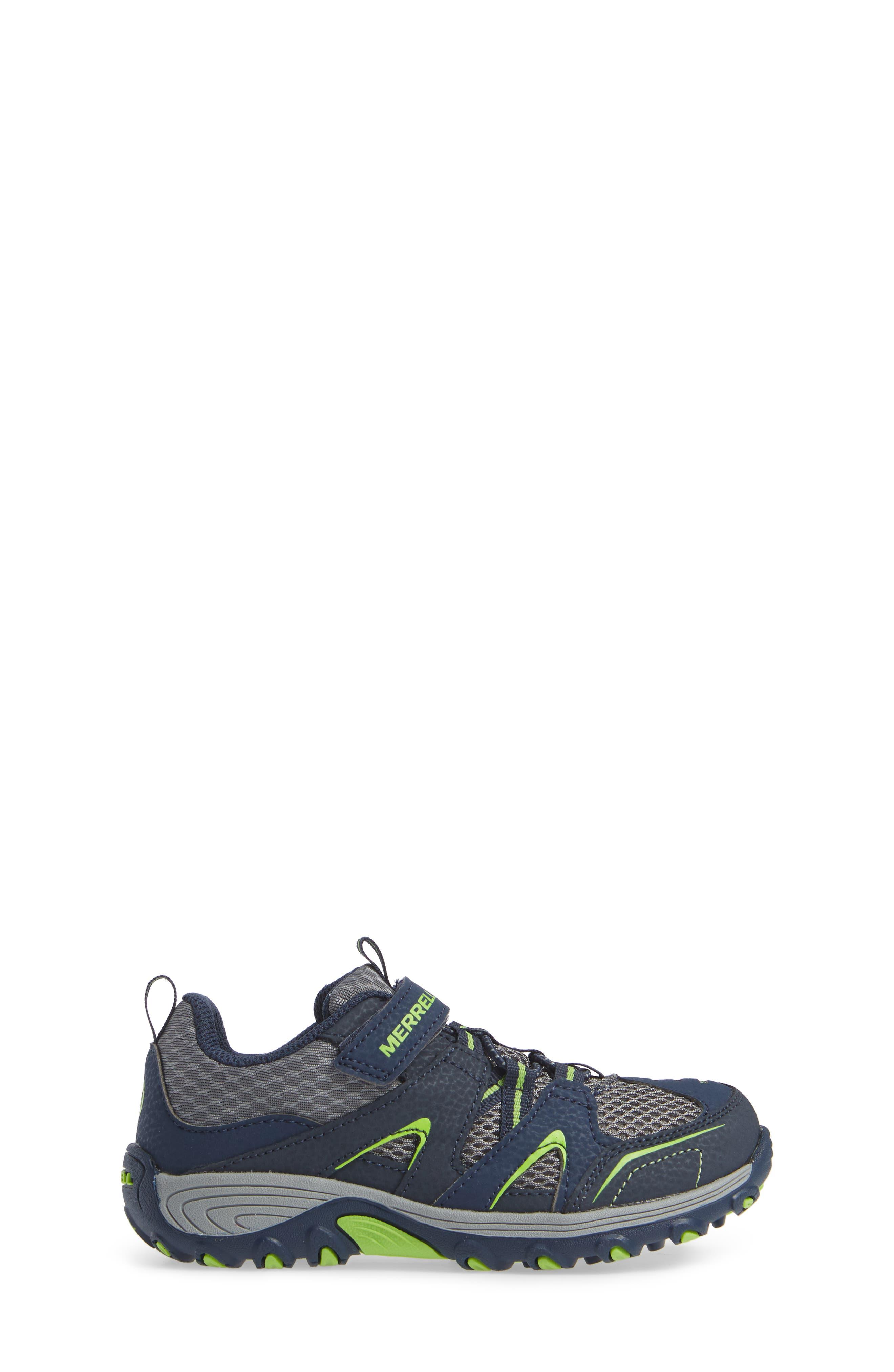 ,                             Trail Chaser Sneaker,                             Alternate thumbnail 3, color,                             NAVY/ GREEN