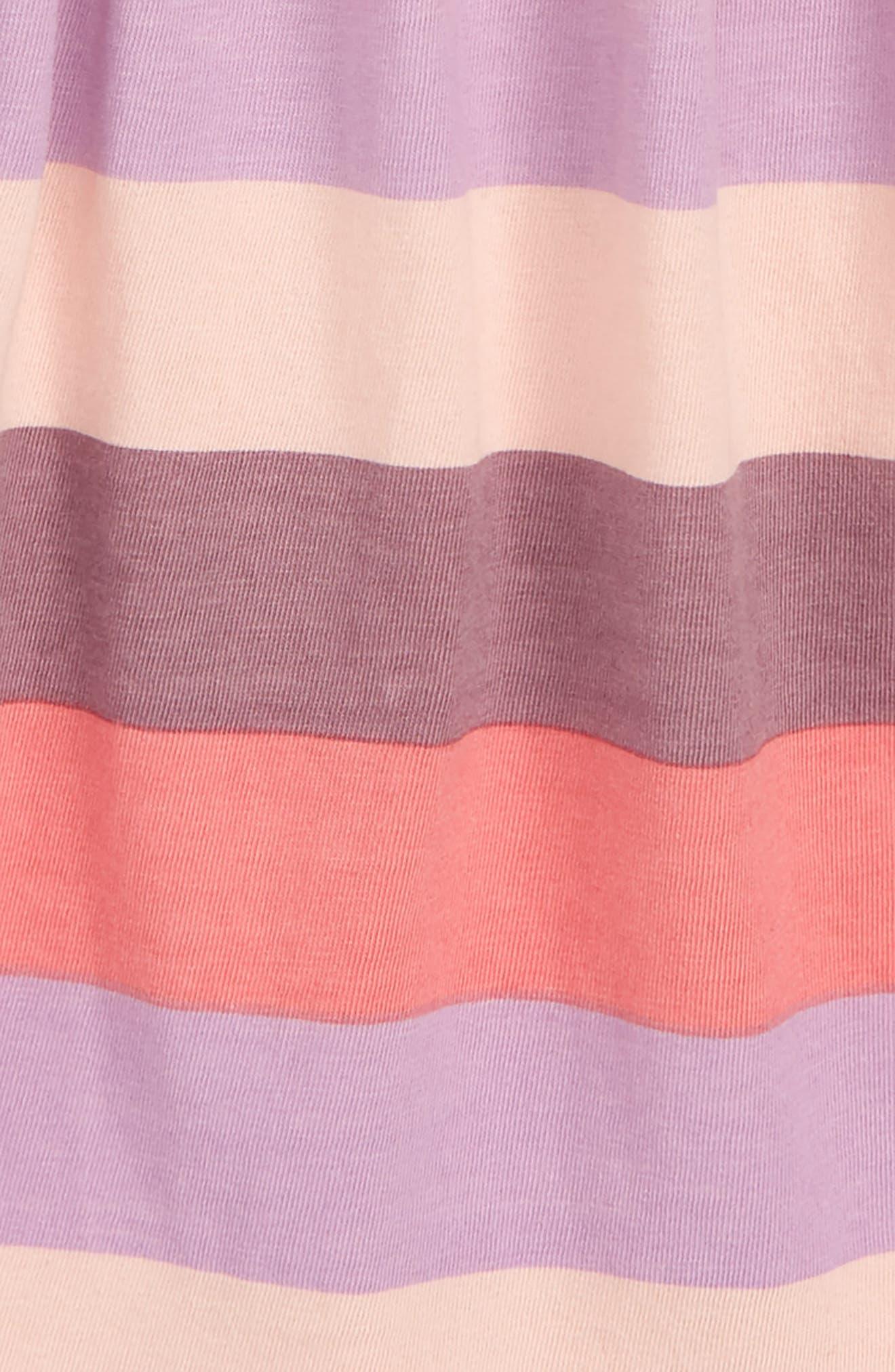 ,                             Peek Khloe Stripe Ruffle Dress,                             Alternate thumbnail 3, color,                             650