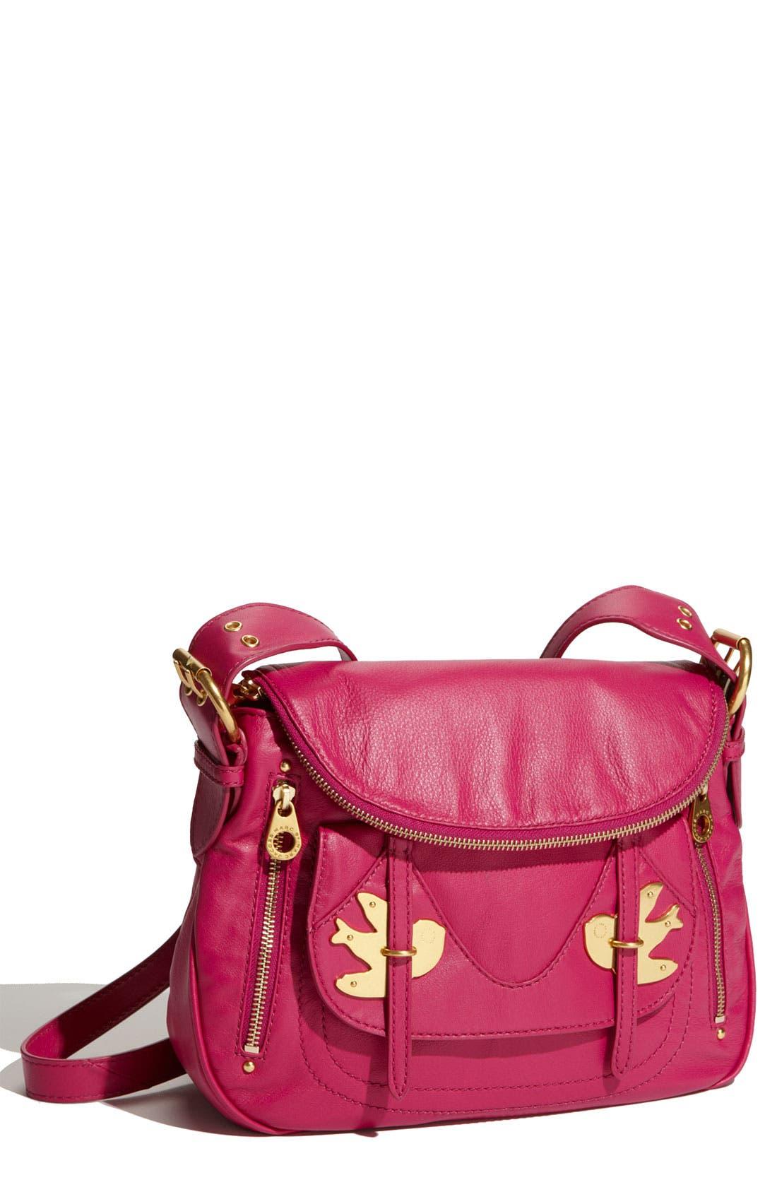 ,                             MARC BY MARC JACOBS 'Petal to the Metal - Natasha' Flap Crossbody Bag, Medium,                             Main thumbnail 41, color,                             650