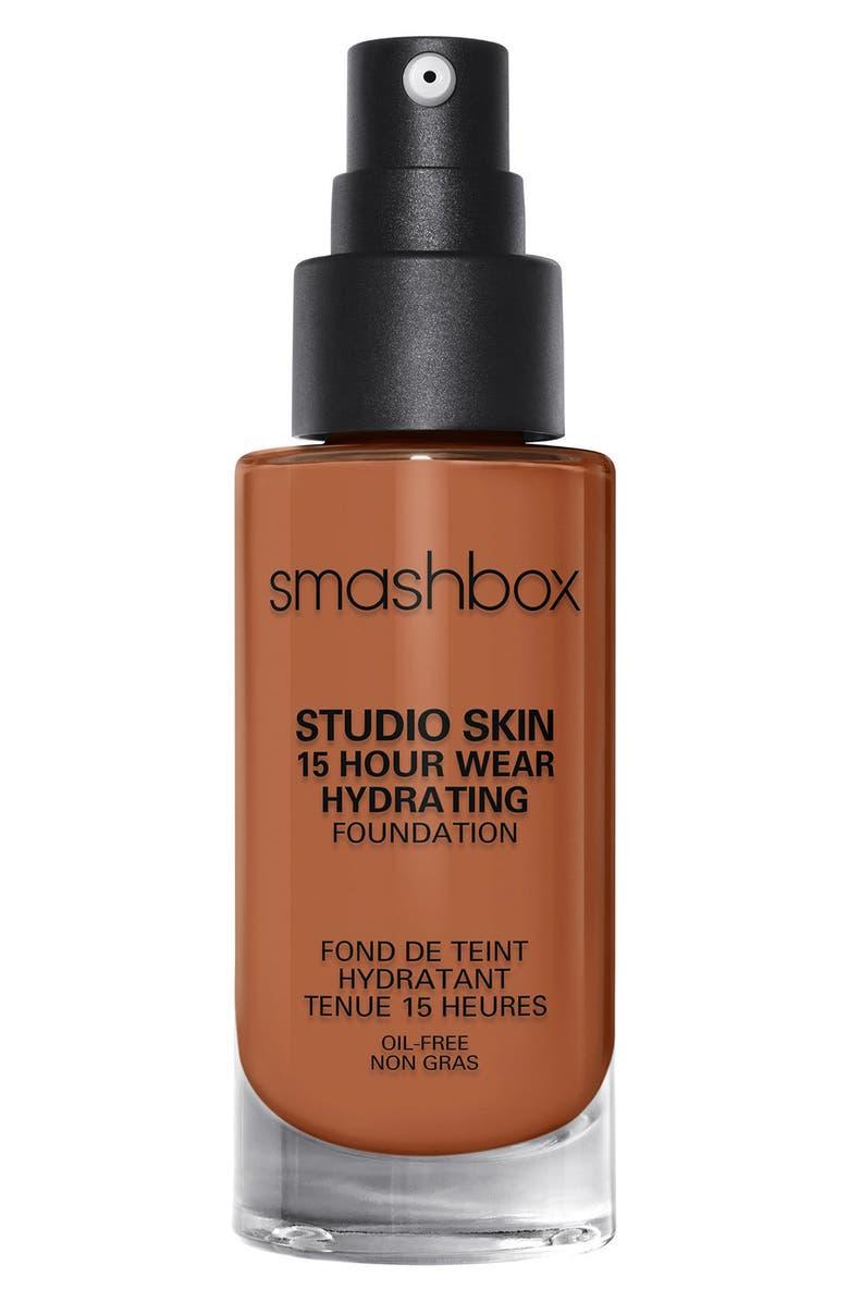 SMASHBOX Studio Skin 15 Hour Wear Hydrating Foundation, Main, color, 4.2 DARK NEUTRAL