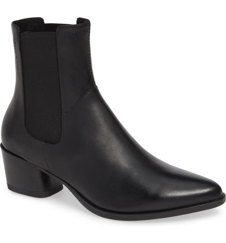 VAGABOND SHOEMAKERS Lara Bootie, Main, color, BLACK LEATHER