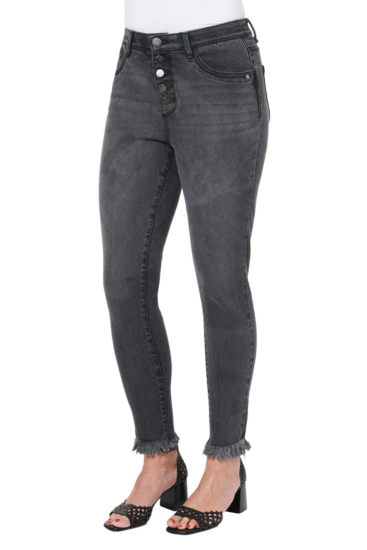 Image of Democracy Ab Solution High Rise Skinny Jeans