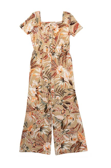 Image of Love, Fire Button Front Jumpsuit