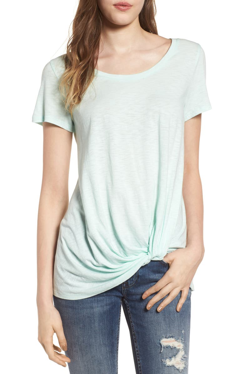 BP. Twist Front Tee, Main, color, 330