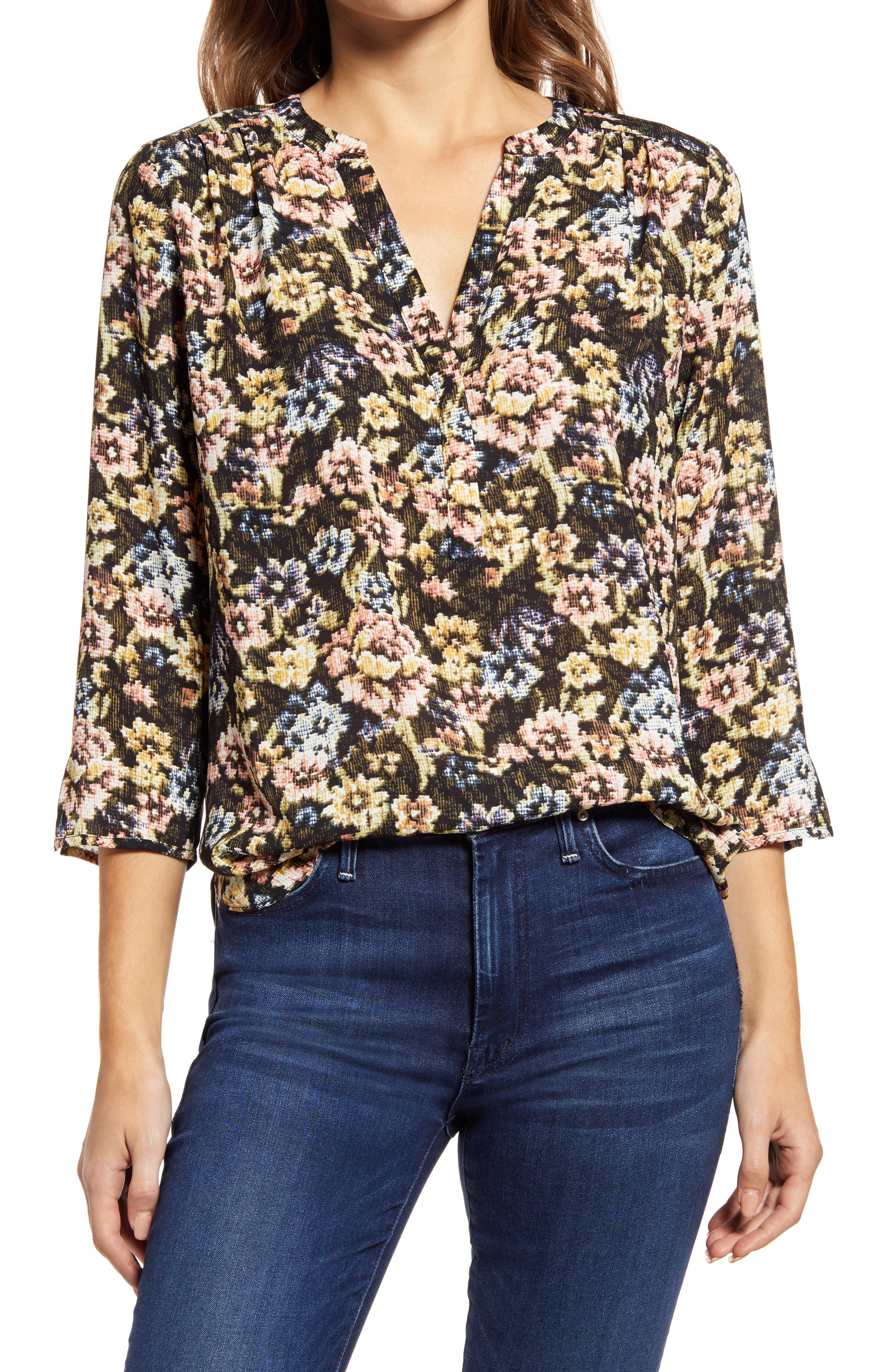 Image of CURVES 360 BY NYDJ Perfect Blouse