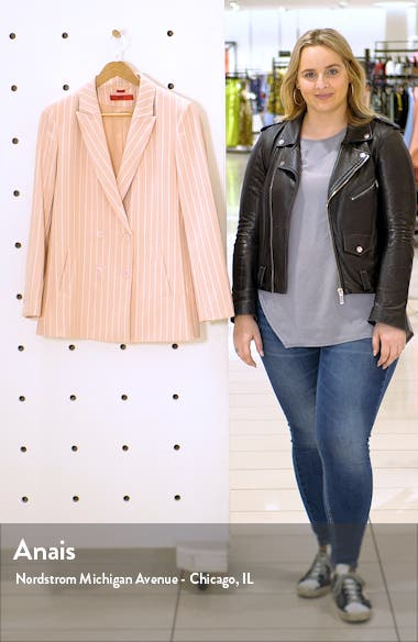 Akata Pinstripe Suit Jacket, sales video thumbnail