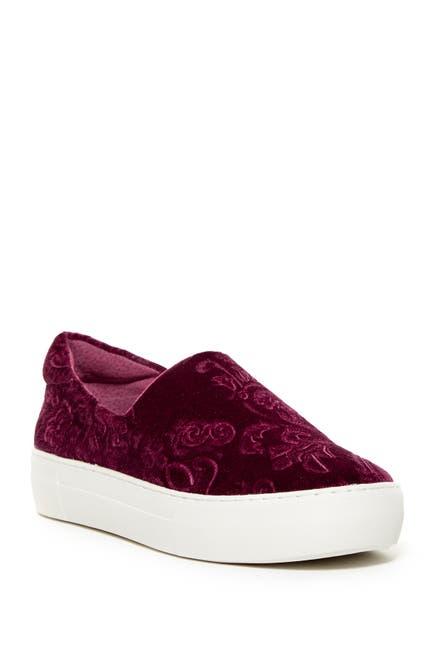 Image of J/Slides Angelica Crushed Velvet Slip-On Sneaker