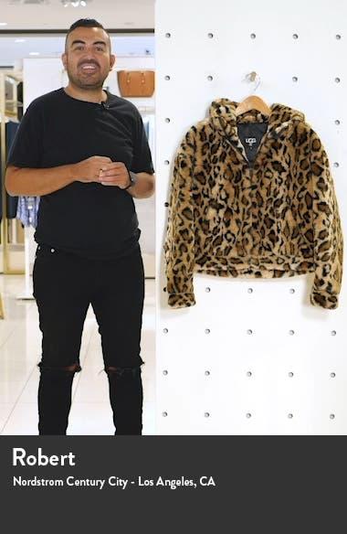 ? Mandy Faux Fur Hooded Jacket, sales video thumbnail