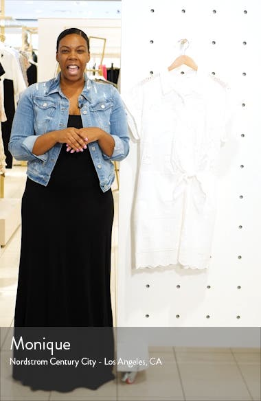 Bettina Eyelet Minidress, sales video thumbnail